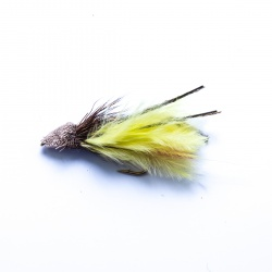 Yellow Marabou Muddler Minnow Lure