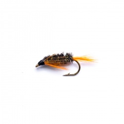 Orange Diawl Bach Nymph