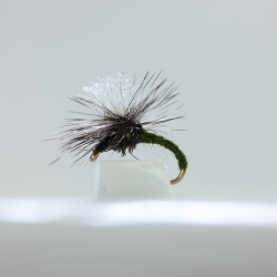 Olive Klinkhammer Dry Fly by the dozen