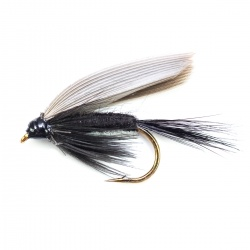 Black Gnat wet fly per dozen