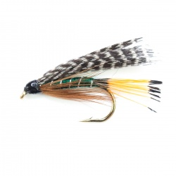 Teal & Green wet fly per dozen