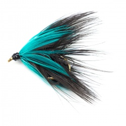 Loch Oldie Blue Black wet fly per dozen