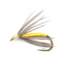 Snipe & Yellow wet fly per dozen