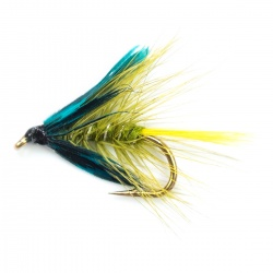 Olive Bumble Wet Fly