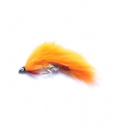 Orange Zonker Lure