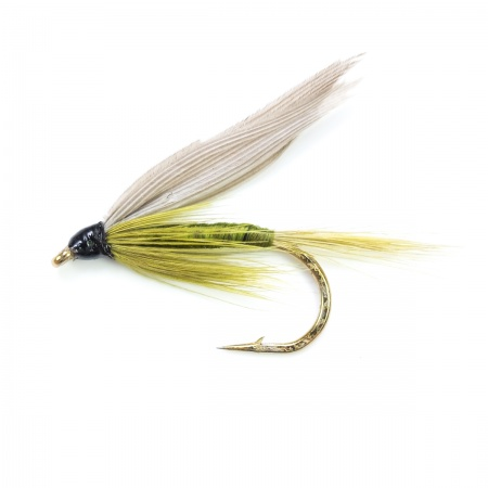 Medium Olive wet fly per dozen