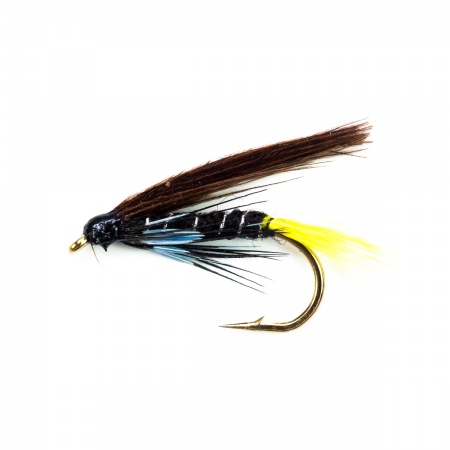 Connemara Black wet fly per dozen