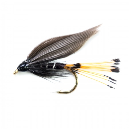 Blae & Black wet fly per dozen