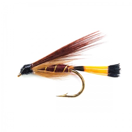 Fiery Brown wet fly per dozen