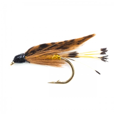 Green Peter wet fly per dozen
